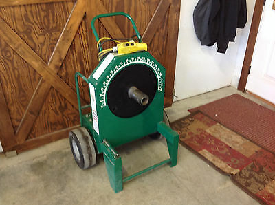 """Greenlee 555 Electric Bender 1/2 to 2"""" Conduit, No Shoes or Accessories"""