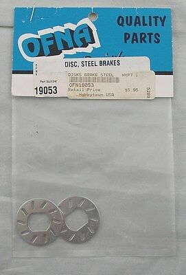 Ofna Hyper 7 TQ 1/8th Scale Buggy Steel Brake Discs OFN19053