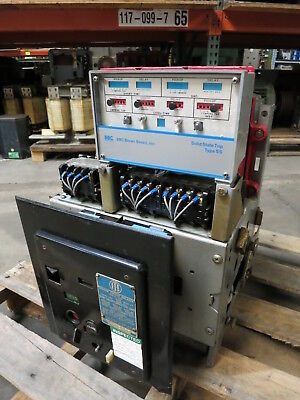 I-T-E Type K-600 600A LI Type SS Motor Operated Power Circuit Breaker BBC 600S