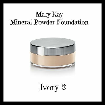 Mary Kay Mineral Powder Foundation - Ivory 2  RRP $30