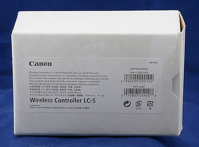 Canon Wireless Controller LC-5 for anything w/N3 plug 1D 5D 7D 10D 20D 30D etc