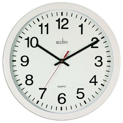 Acctim Controller Wall Clock 368mm Black