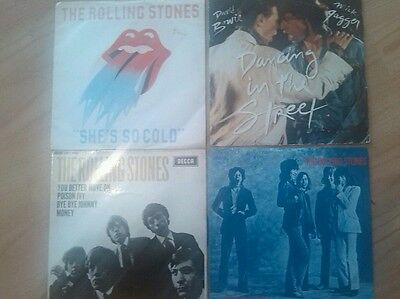 The Rolling Stones 7 inch singles