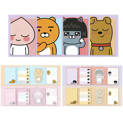 Kakao Friends Characters Sticky Note Office Post-It Cute Memo Index Bookmark