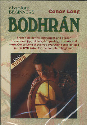 Absolute Beginners Bodhran DVD Learn to Play Method by Conor Long