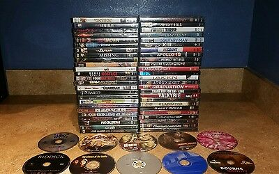 Huge Lot of 60 DVD Movies - Comedy Horror Drama Thriller Romance Action **NICE**