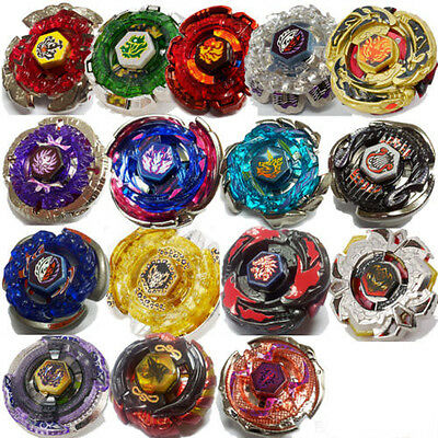 Beyblade Metal Masters LOT Fusion Fury+String Bey Launcher XMAS GIFTS Fight Toy