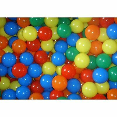Kids Childrens Plastic Play Balls For Ball Pits Pen Pool Multicoloured Toy Soft