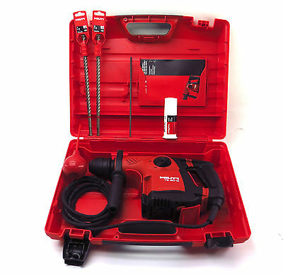 Hilti Rotary Hammer Drill TE30-C AVR With Bits & Case 1 Year Warranty Free Ship