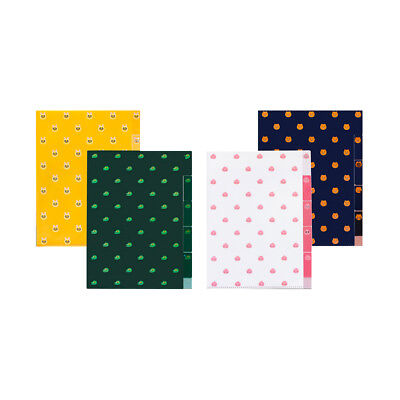 Kakao Friends Characters 5 Pockets A4 Clear File Document Folder