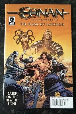 Conan The Barbarian - The Mask Of Acheron Dark Horse Comics 2011 Graphic Novel