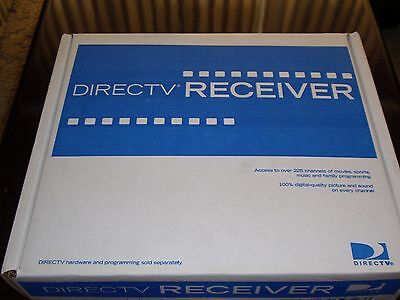 Direct TV D10-300 Satellite Receiver with Remote and Cords