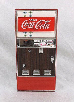 Vintage 1996 Die Cast Coca Cola Musical Vending Machine Bank Parts Repair