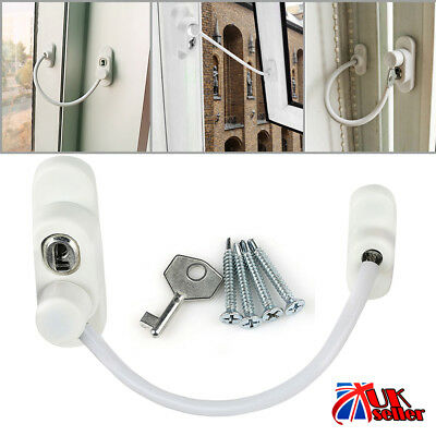 Window Door Restrictor Child Baby Safety Lock Security Cable Lock Catch Wire