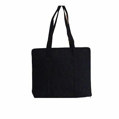 "YAZZII Crafters Companion Bag (BLACK) - 13.3"" x 10.8"" x 3.5""  - Customer Return"