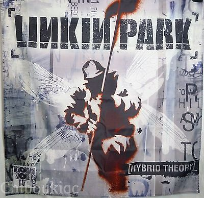 LINKIN PARK Hybrid Theory HUGE 4X4 BANNER poster tapestry cd album