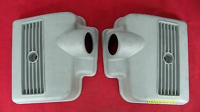 71-72 Triumph T120R Bonneville Orig Air Box Side Covers 83-2751/52  83-3850/51