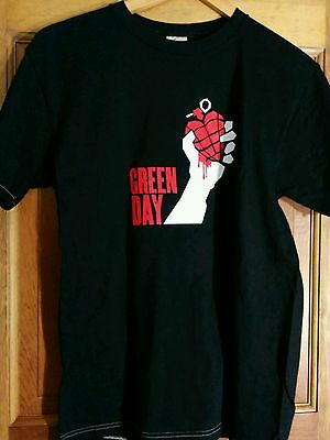 Green Day T-Shirt American Idiot Tour