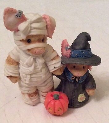 This Little Piggy You Are Such A Treat Mummy figurine