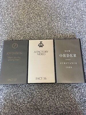 Factory Records VHS Joy Division, New Order
