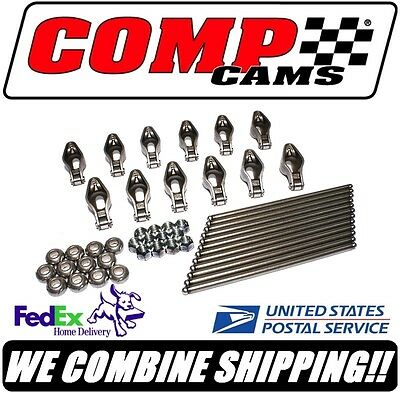 Comp Cams 1.6 Chevy 4.3L V6 Magnum Roller Rocker Arm & Pushrod Kit #RPE1418-12