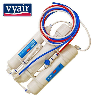 3 Stage Compact Reverse Osmosis Water Filter For Use In Aquariums And Plants