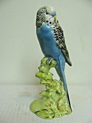 Rare Beswick Left Facing Blue Budgie #1216B, Gloss, Excellent Condition