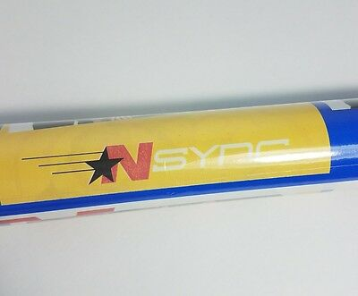 NSYNC Wrapping Paper Gift Wrap Justin Timberlake 20 sq ft Roll NOS