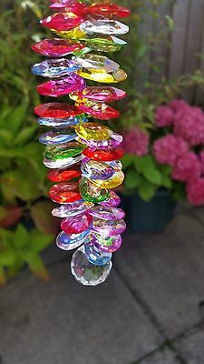 Beautiful crystal ball multicolour suncatcher for home, garden, conserv&windows