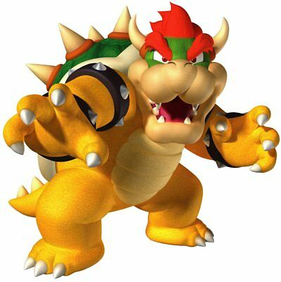 Bowser Movable Wall Stickers