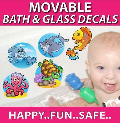 Fish Movable Bath Stickers