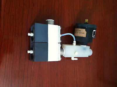 Semitool/ AMAT 2 Stage N2 Valve w/ Teflon Connector & Nason Electric Switch