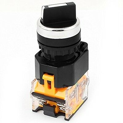 3 Position NO NC DPST Maintained Selector Rotary Switch 400V 10A