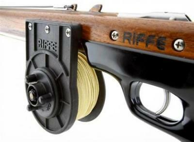 Riffe N.F.Vertical Speargun Reel w 200ft/600lb Spectra for Spearfishing