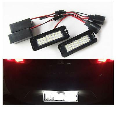Lights Lighting Plate White Led Xenon Vw Golf 4 5 6 Passat 3C Sirocco Polo
