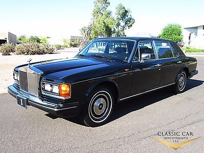 1985 Rolls-Royce Silver Spirit/Spur/Dawn Silver Spur 1985 Rolls Royce Silver Spur - Only 7K Original Miles - Showroom New - Must See!