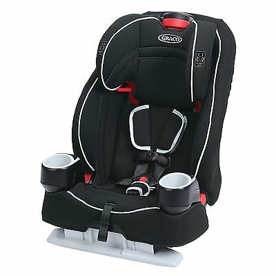 Graco Atlas 65 2-in-1 Harness Booster Car Seat, Glacier, New, Free Shipping