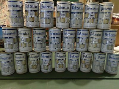 Vintage Beer Can Lot Case of 24 Bohemian Club Straight Steel