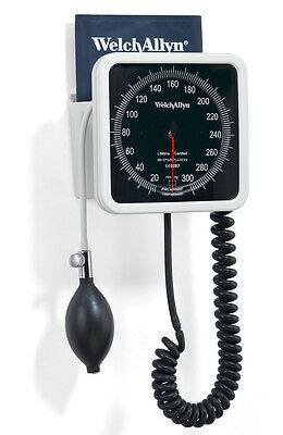 Welch-Allyn 7670-01W Series-Wall-Aneroid-with-Reusable-One-Piece-Adult-Cuff