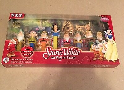 Pez Snow White And The Seven Dwarfs LIMITED EDITION Set UNOPENED