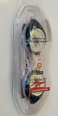 Womens Speedo Vanquisher Anti Fog Competition Goggles With UV Protection *New*