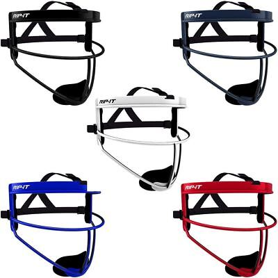 Rip-It DEFENSE Softball Face Mask - VARIETY COLOR & SIZE - Ponytail Friendly