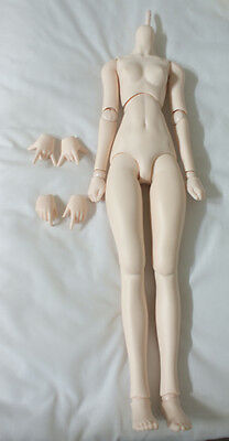 * VOLKS Dollfie Dream Sister body, DDS body, Semi-White Skin with extra hands *