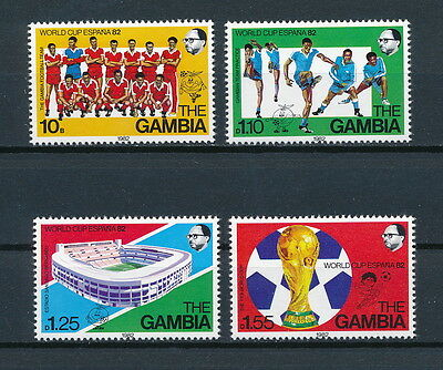 Gambia  443-6 MNH, World Cup, 1982