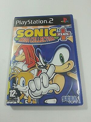 Sonic mega collection plus PS2 PAL playstation