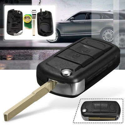 3 Button 433MHz Chip Remote Key Fob For RANGE ROVER Sport Land Rover Discovery 3