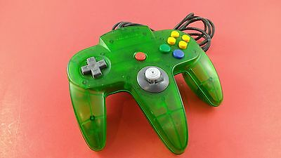 Nintendo 64 N64 Controller Jungle Green [Official Original OEM] Tested & Working