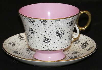 Adderley Fine Bone China Cup and Saucer