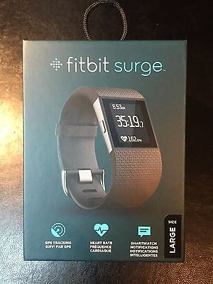 Fitbit Surge Fitness Super Watch - Size Large
