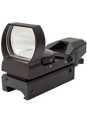 Airsoft 4 Reticle Reflex Red Dot Sight (20mm mount) - TRACKING # Included!